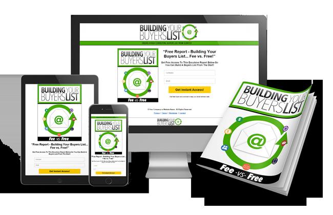 Building Your Buyers List | PLR Lead Magnet