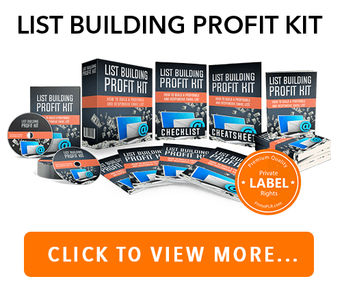 List Building PLR Package