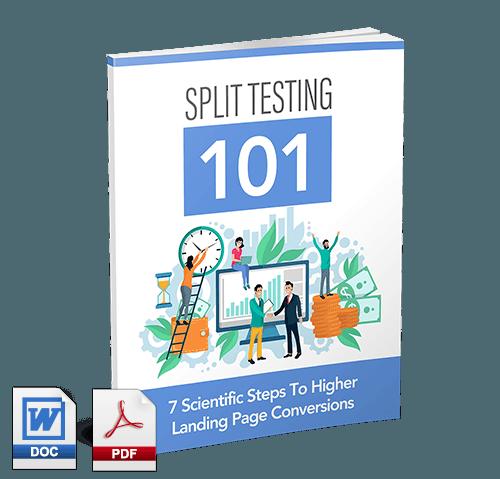 Split Testing PLR lead magnet
