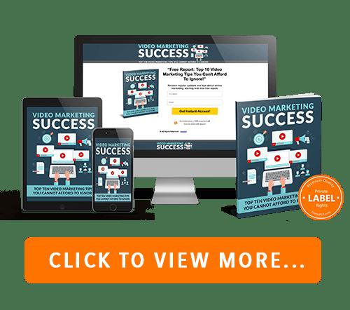 Video Marketing Success PLR